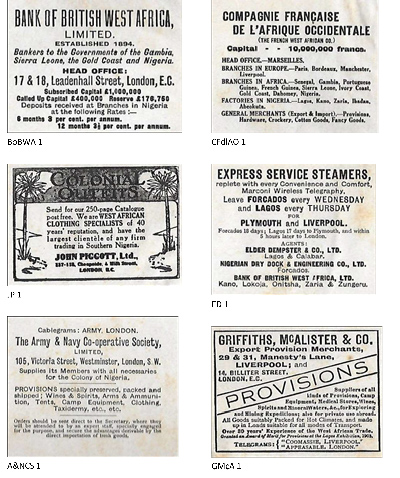 booklet adverts
